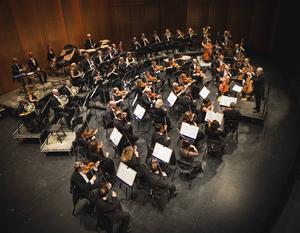 Konsert med Gävlesymfonikerna, i Gävle torsdag 25 februari.