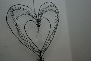 Hjärtan är också populära.
