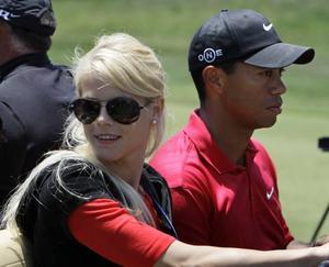 Elin Nordegren och Tiger Woods har blivit föräldrar igen. I söndags föddes deras son Charlie Axel.Foto: Chris Carlson/AP/Scanpix