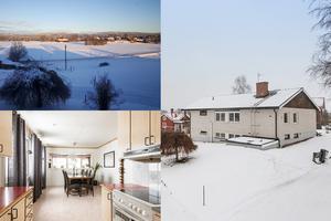 På Österbyvägen ligger den här rymliga villan med utsikt över Våmhus.
