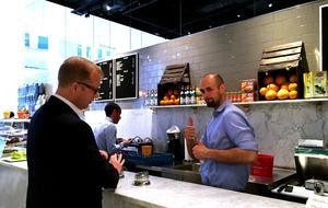 Kaffet har blivit en passion för Mikael Olsson.