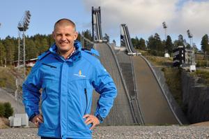 Jimmy Birklin är vd för Svenska Skidspelen.