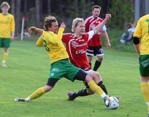 Kamp på Nymålavallen.