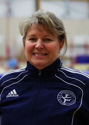 My Lindskog Andersson är med i tävlingsledningen i Östersundsgymnasterna.
