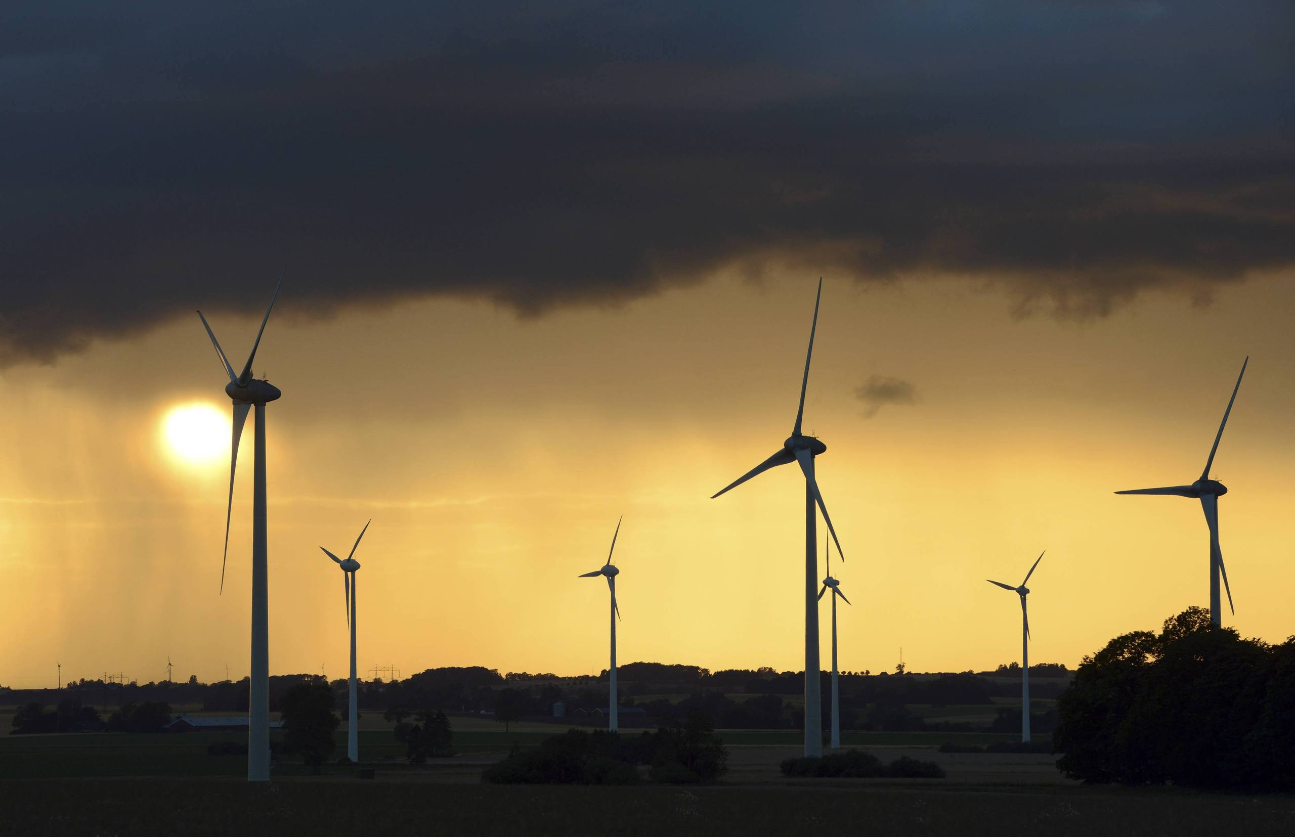 Varnar for konkurser inom vindkraften