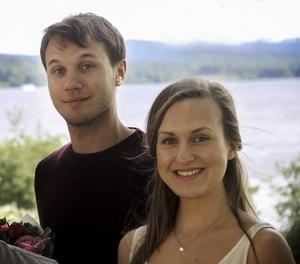 Johan Bodell och Maja Lindh var två av sex personer som vann Region Gävleborgs kulturstipendium.
