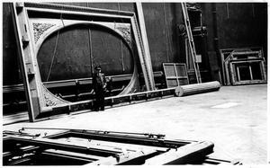 Bild tagen efter att Louvren evakuerats 1939. Foto: Okänd fotograf.
