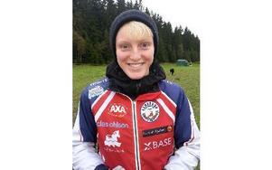 Leksands OK:s Linda Lindkvist vann SM-guldet i D20-klassen. Foto: Privat