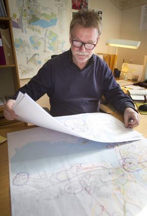 Ett långt arbete ligger bakom förslaget till cykelpolicy i Hudiksvalls kommun, förklarar Mats Gradh.
