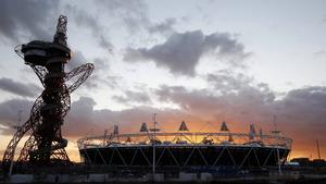 Olympiska parken i London ska bli ett nytt kulturellt centrum.   Foto: Alastair Grant/AP/TT