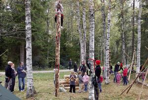 När Skogens dag arrangerades förra året var det full fart med många olika aktiviteter.