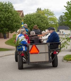 Det är tredje året som Ängslunda anordnar en sommarfest på Fornhemmet.