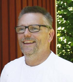 Peter Hilmersson, idrottsplatsansvarig  i Väddö IF. Arkivfoto.