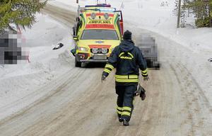 Vid Kröket, Tännäs, i västra Härjedalen skedde en av de dödliga olyckorna med skoter i vinter. En kvinna i 50-årsåldern omkom i olyckan.