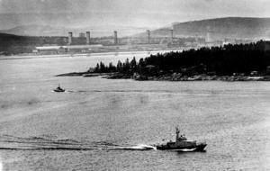 Ubåtsjakt utanför Sundsvall 1983. Bilden har ingenting med artikeln att göra.