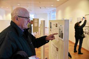 Stig Hägglund fann en bild på sig själv från ungdomens dagar.