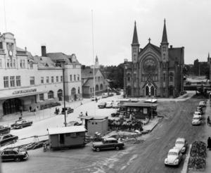 Gävle centralstation på 70-talet. Det var viktigt för Sovjet att känna till den svenska infrastrukturen om de skulle använda vårt land.