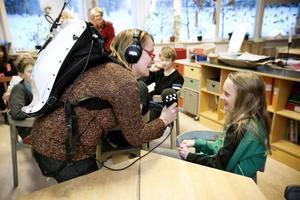 Moa Månsson går i årskurs fem Jordens hus på Gerestaskolan. Hon var en av de som hade bäst resultat när klassen gick vidare i