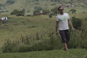 Måns Zelmerlöv reser gärna till Sydafrika - både med välgörenhetsorganisationen Star for Life och med familjen.