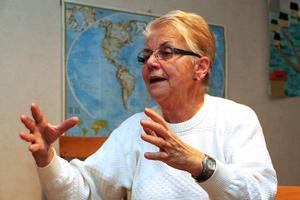 – Jag vill inte sprida min oro, men jag blir påverkad, säger Maud Frestadius.