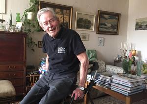 Bussomläggningen och frånvaron av Mjuka Linjen har påverkat Baltzar de Maré, 89, negativt.