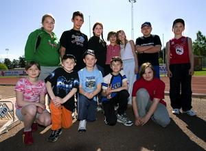 Siktade på seger. Eleverna från Furudals skola var segervissa inför distriktsfinalerna i friidrott. – Vi är bra på allt och ska vinna, lovade de.