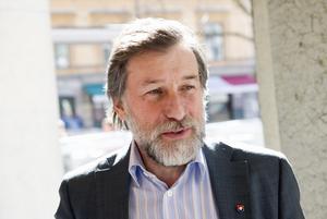 Leif Pagrotsky (S) och de rödgröna vill öka möjligheten till sponsring av kulturevenemang i public service. Foto: Henrik Montgomery/Scanpix
