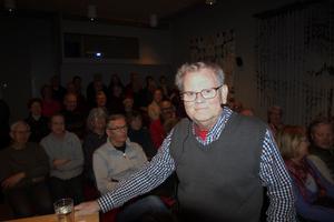 Filmaren Torbjörn Lindqvist visade och berättade om sina filmer han spelade in i Leksand och Rättvik i mitten av 1960-talet.