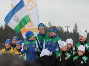 Dramatiken var stor i skicrosstafetten men även där gick J/H segrande ur striden vilket innebar att länsungdomarna vann alla tre stafetterna.