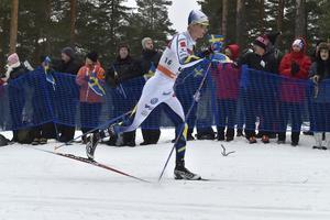 Falun 170129FIS Cross-Country World Cup herrar 30 kmSimon AnderssonFoto Nisse Schmidt