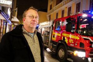 """""""Jag är glad att inget liv gick till spillo"""", säger marknadsområdeschefen för Norrvidden, Peter Boström"""