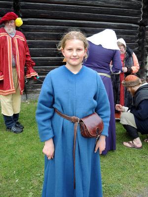 Sofia Målare ska besöka medeltidsmarknaden på Gammelgården för första gången.
