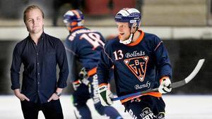 Johan Berglund slutar mitt under sin totalt elfte säsong i Bollnäs. Bilden är ett montage.