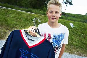 Albin Mårtensson är stolt över att vara en del av kampanjen.