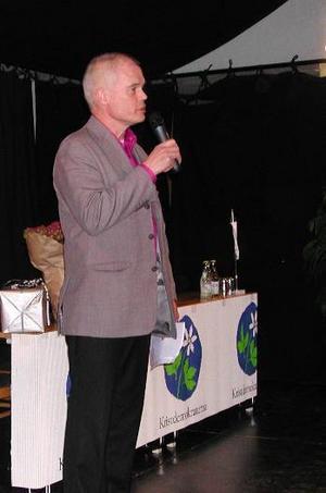 Avgår. Ulrik Lindgren har varit distriktsordförande i Kristdemokraterna Dalarna sedan 1991.