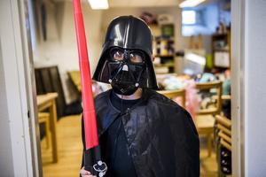 Den onde sithlorden Darth Vader.
