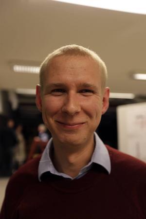 Linus Kimselius är ordförande för Samhällsbyggnadsnämnden. Han är nöjd med planerna och över att ha fått informera invånarna i Krokom om vad som kommer att ske.