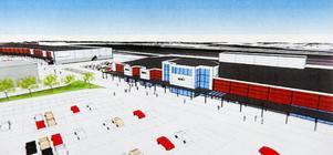 Ikanos andra handelshus på Norra Backa ska rymma tre butiker. Coop Forum blir den klart största hyresgästen i byggnaden.
