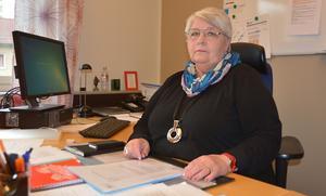Linnea Lång är huvudskyddsombud för kommunal sektion 15 vård- och omsorg.