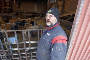 Det nya jordbruksstödet oroar Jan Thorén, LRF:s ordförande i Gävleborg.