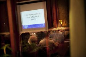 I går kväll gick diskussionerna om ett framtida kulturhus vidare. Denna gång i kommunens regi.  Foto: Robert Henriksson