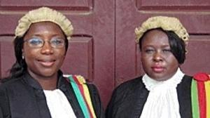 Beatrice Ntuba och Vera Ngassa i Sisters in Law. Foto:MaryMilton