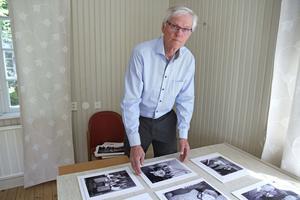 Stig-Åke Svenson hoppas att lokalbefolkningen i Gustafs och Silvberg kommer på utställningen och bidrar med ny kunskap kring fotografierna som ställs ut.