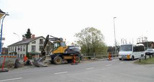 Nu ska det bli säkrare att korsa väg 272 vid Sundsbron i Ockelbo.