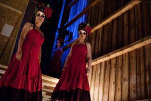 Carmen på Opera på Skäret. Bakom scenen.Arkivbild: Anna Wahlgren