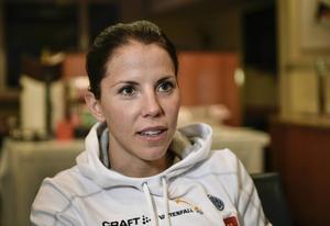 Charlotte Kalla ser fram emot Tour de Ski som inleds i dag.