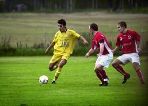 Hussein Fawaz sköt två av målen när Ervalla vann mot Vretstorp.