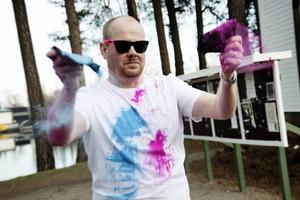 Tomas Stålmarck, tävlingsansvarig för The Color Run.