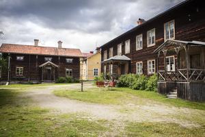 Hälsingegården Bommars i Letsbo är en av sju gårdar i Hälsingland som representerar värdsarvet.