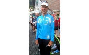 IFK Moras Jonas Buud tog sjunde raka segern i Swiss Alpine. Foto: